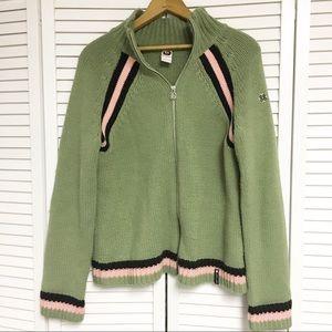 Burton zip up sweater